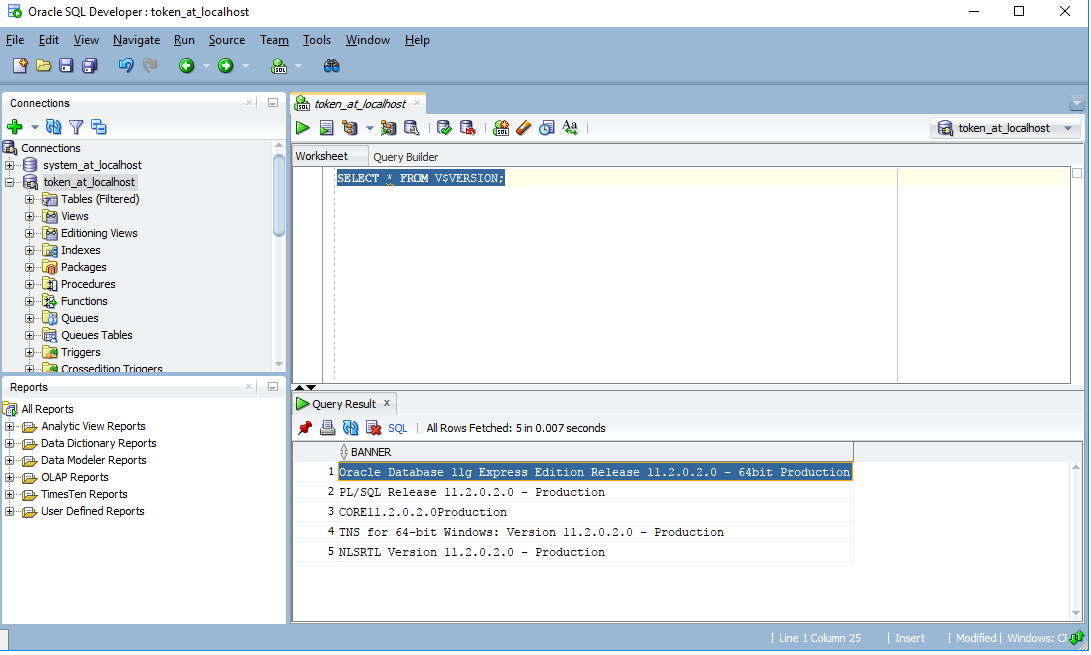 Oracle wersja - Jak sprawdzić