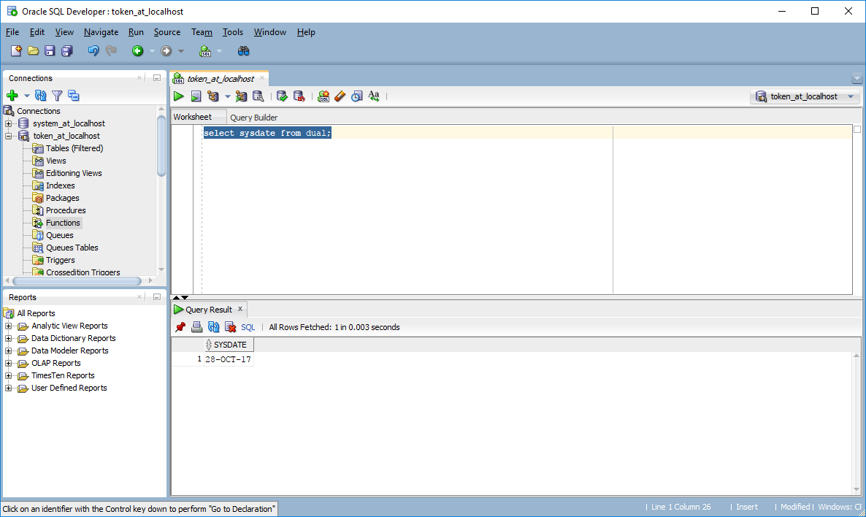 Funkcje Oracle SQL – Funkcja Sysdate Oracle